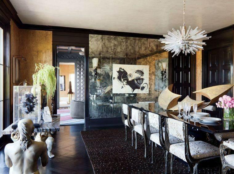decorar paredes diseno interiores acentos espejos ideas