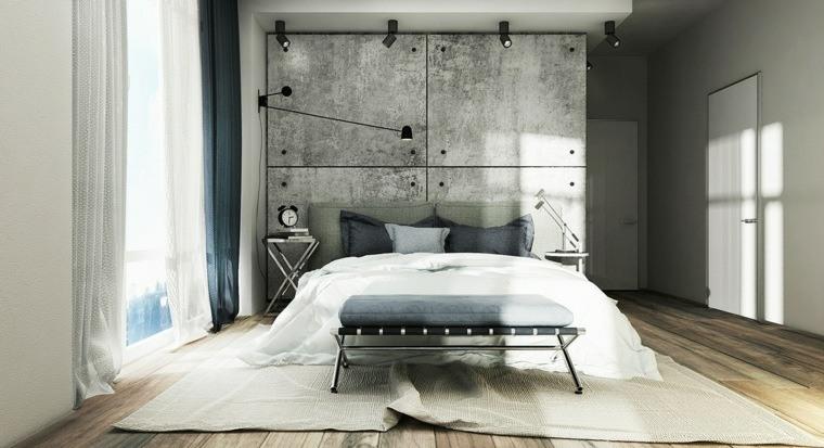 decorar paredes diseno interiores acentos imitacion hormigon