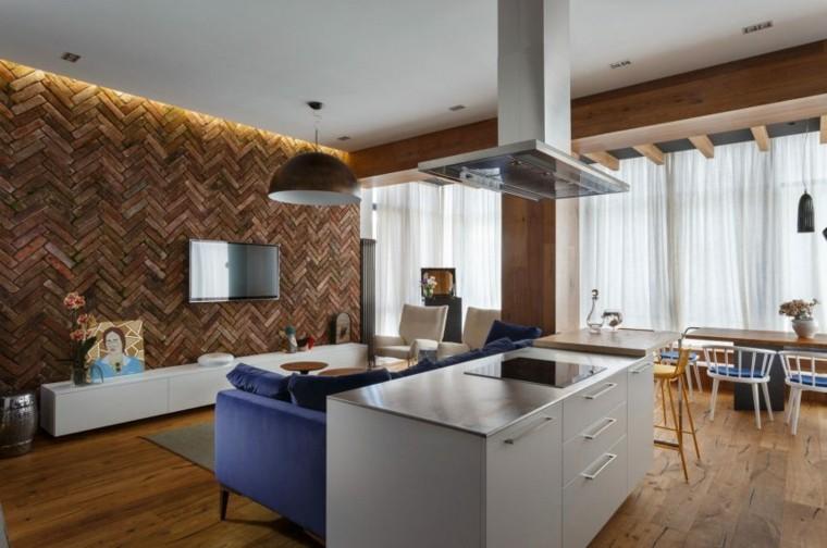 decorar paredes diseno interiores acentos salon estilo ideas