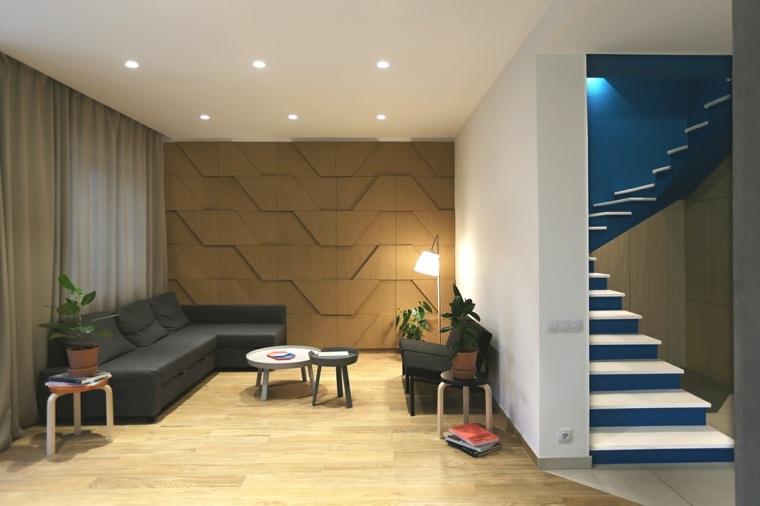 decorar paredes diseno interiores acentos salon pequeno ideas