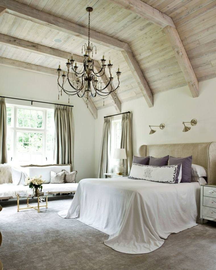 decorar un dormitorio de matrimonio amplio ideas