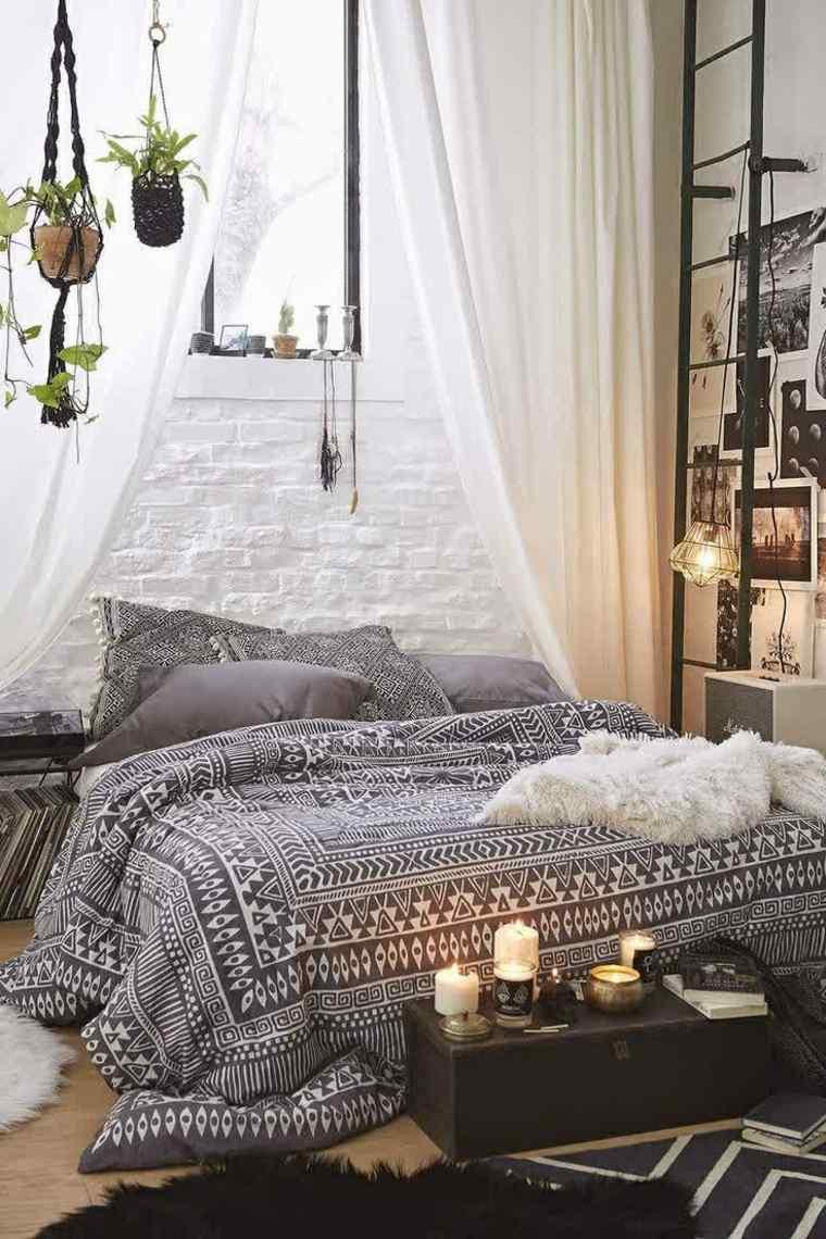 decorar un dormitorio de matrimonio bohemio ideas