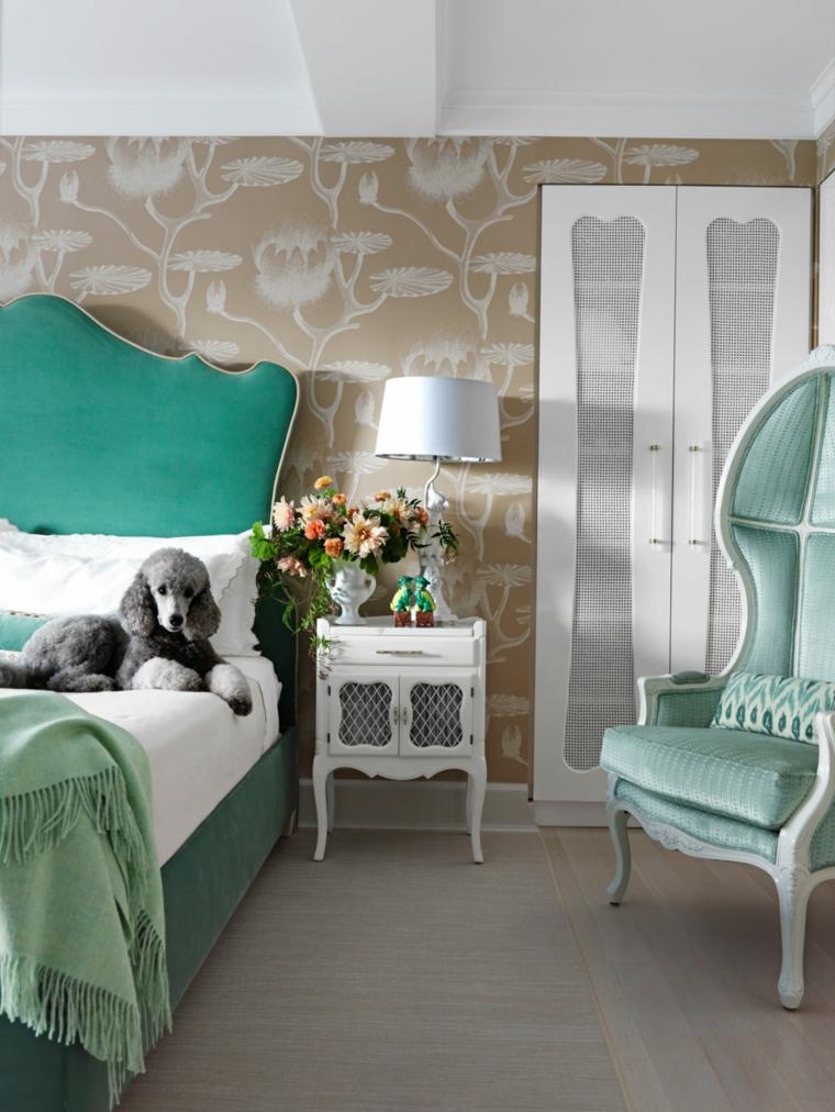 decorar un dormitorio de matrimonio cabecero dormitorio romantico ideas