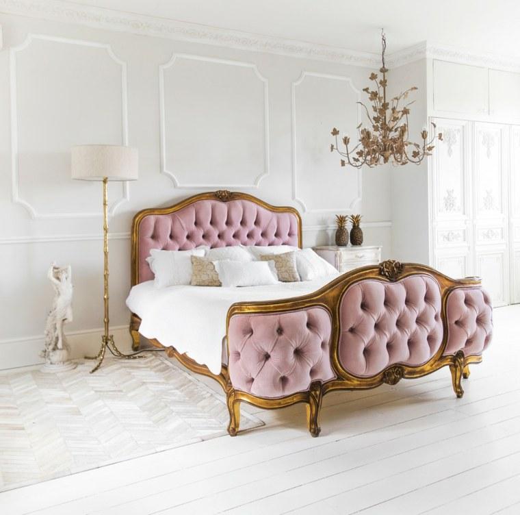 decorar un dormitorio de matrimonio lampara lujosa ideas