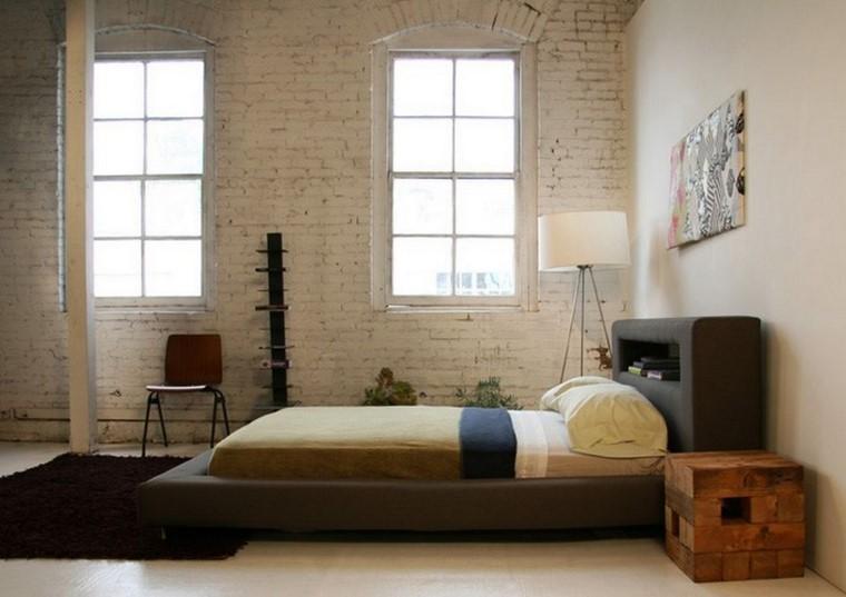 Decoraci n interiores minimalistas con paredes de piedra for Objetos decorativos minimalistas