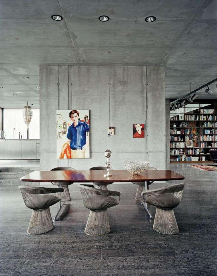 decoracion interiores minimalistas hormigon ideas