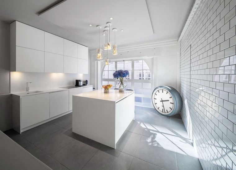 descoracion interiores minimalistas residencia cocina ideas
