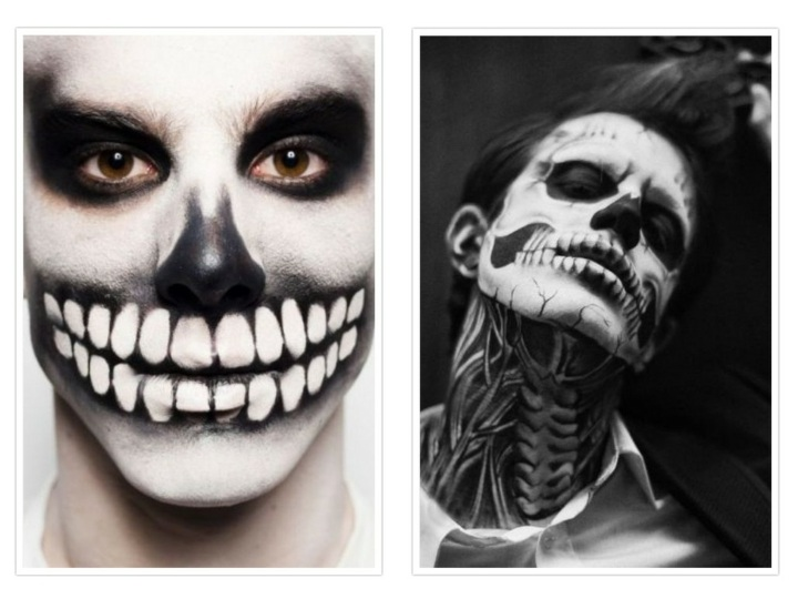 detalles realistas efectos maquillaje interesantes