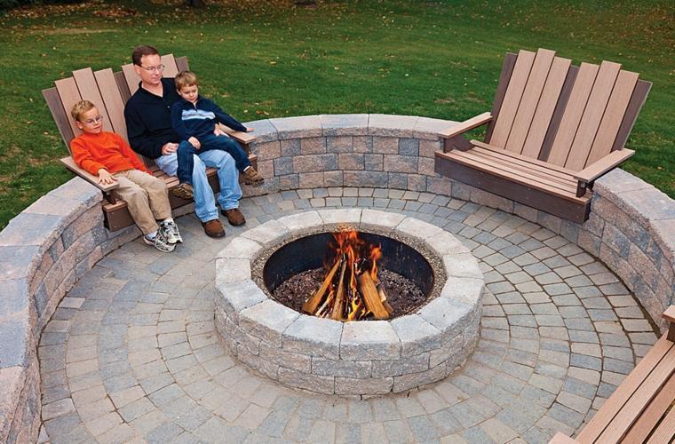 diseñar pozo fuego poiedra