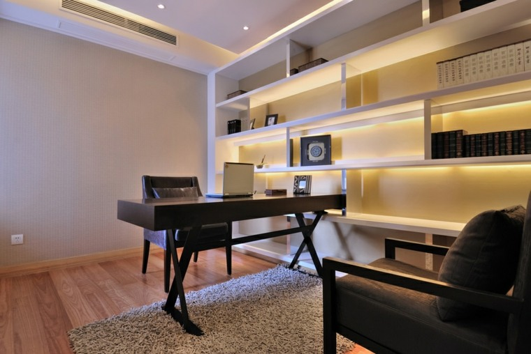Dise o de oficinas tener la oficina en casa for Oficina moderna en casa