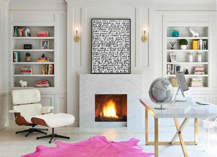 diseño interiores tonos blancos