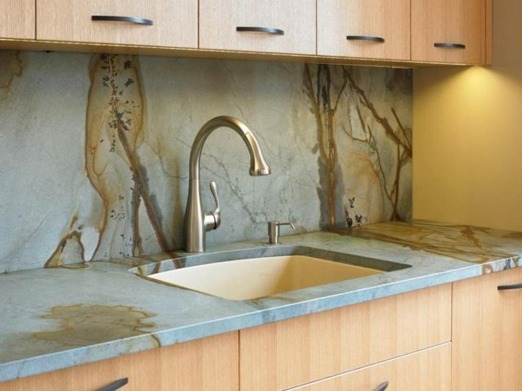 diseño salpicadero de cocina piedra natural