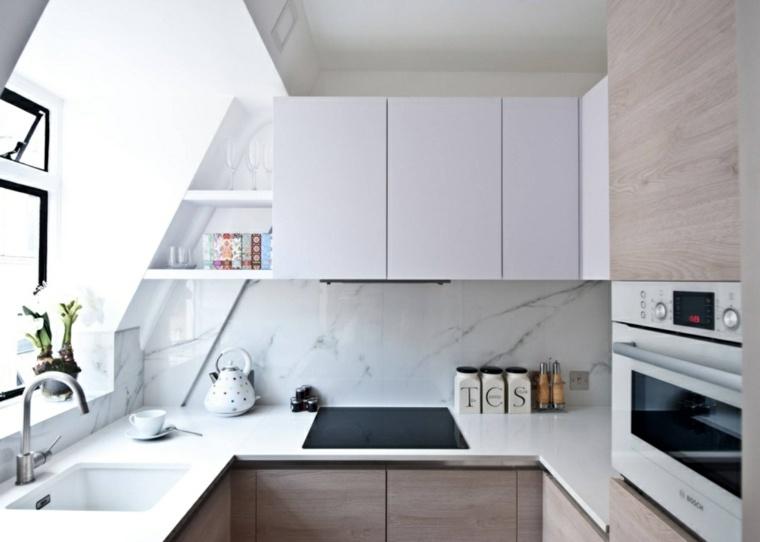 diseno cocina salpicadero marmol