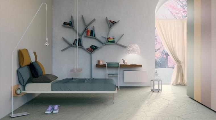 Cama Flotante - cabecera y base de cama flotantes deco hogar ...