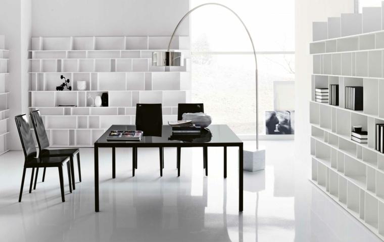 diseño de oficinas blancas
