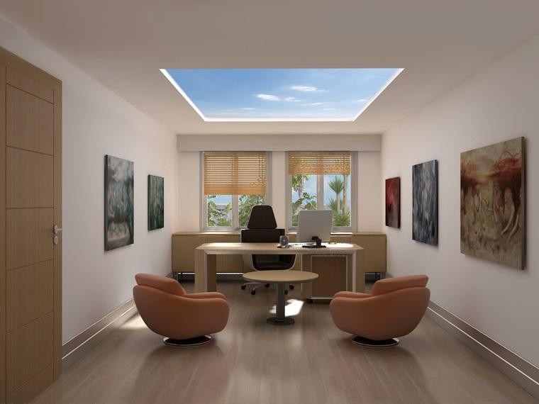 Dise o de oficinas tener la oficina en casa for Diseno de oficinas