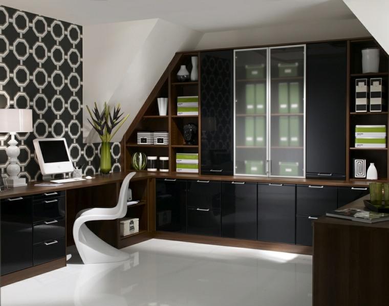 diseño de oficinas madera