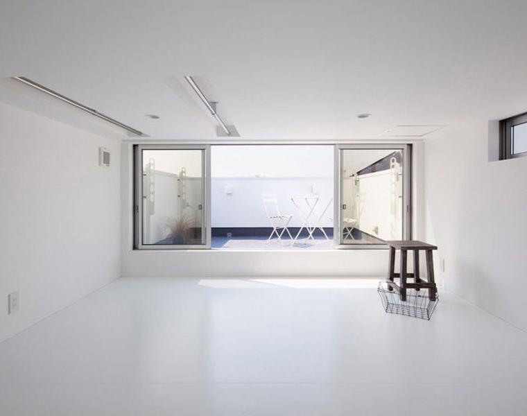 diseno interior moderno sencillo blanco