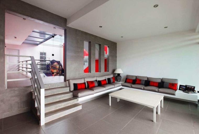 Decoraci n minimalista fotos de salones modernos for Muebles salon diseno minimalista