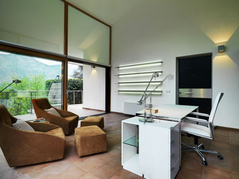 Dise o de oficinas tener la oficina en casa for Oficinas modernas 2016