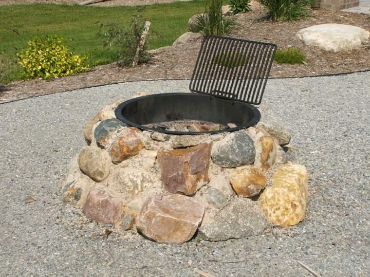 diseño moderno pozo fuego