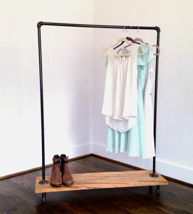 diseno vestidor auxiliar moderno sencillo