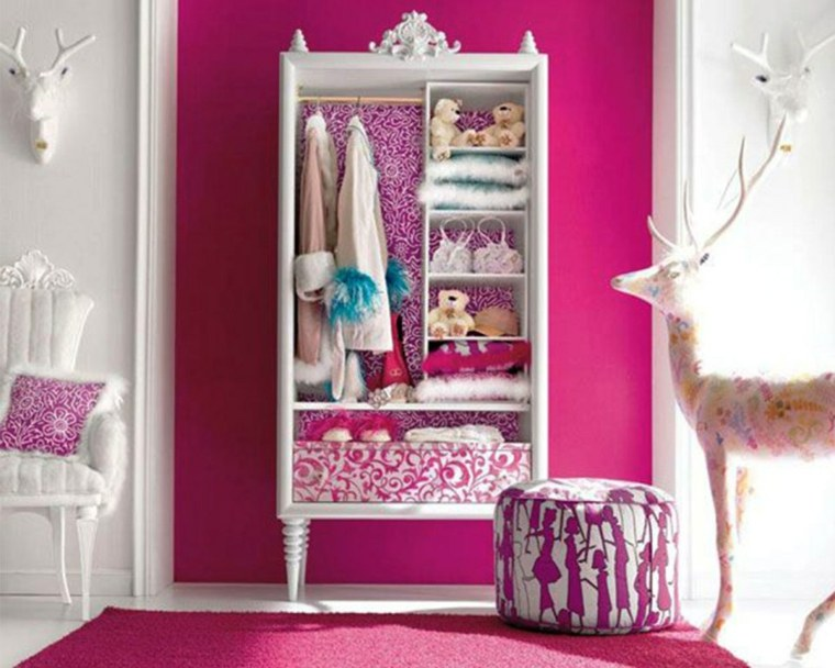 diseño vestidor barato rosa