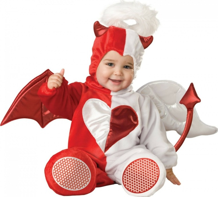 disfraces para bebes halloween nina angel diablo ideas