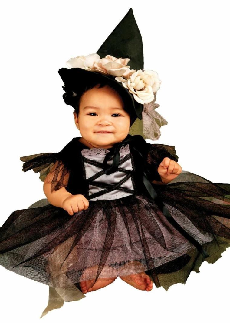 disfraces para bebes halloween nina bruja ideas