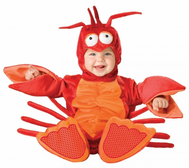 disfraces para bebes halloween nina cangrejo