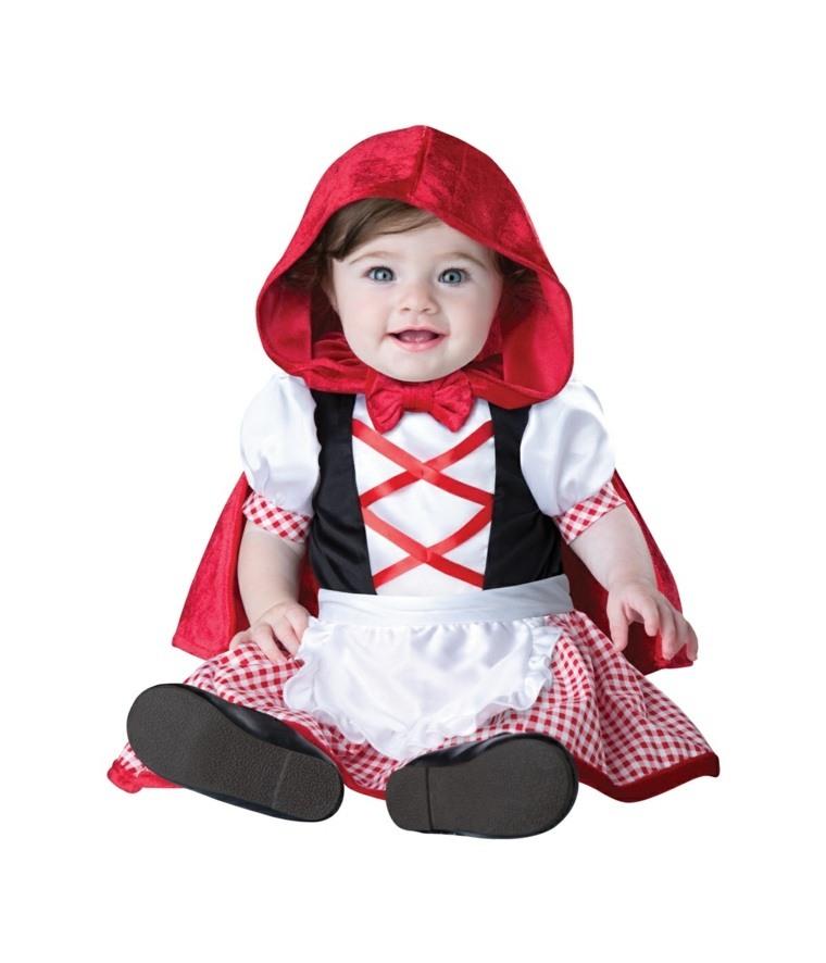 disfraces para bebes halloween nina caperucita roja idea