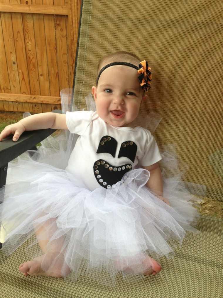 disfraces para bebes halloween nina fantasma ideas