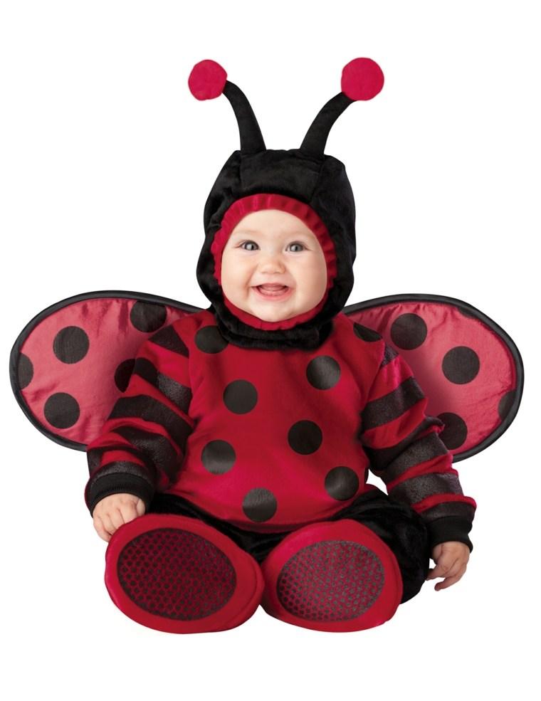 disfraces para bebes halloween nina mariquita ideas