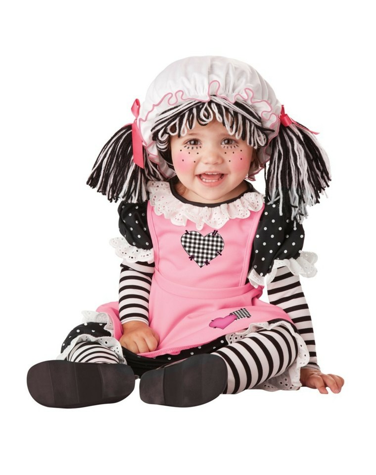 disfraces para bebes halloween nina muneca ideas