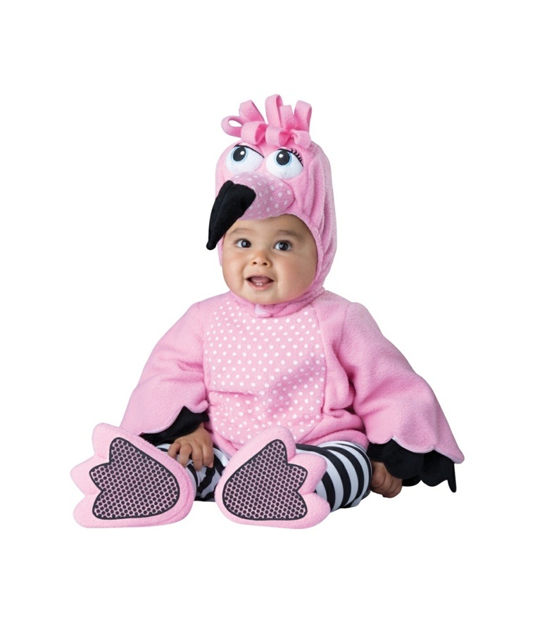 disfraces para bebes halloween nina pajaro rosa ideas