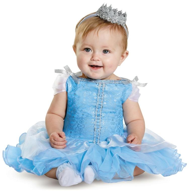 disfraces para bebes halloween nina princesa cenicienta ideas