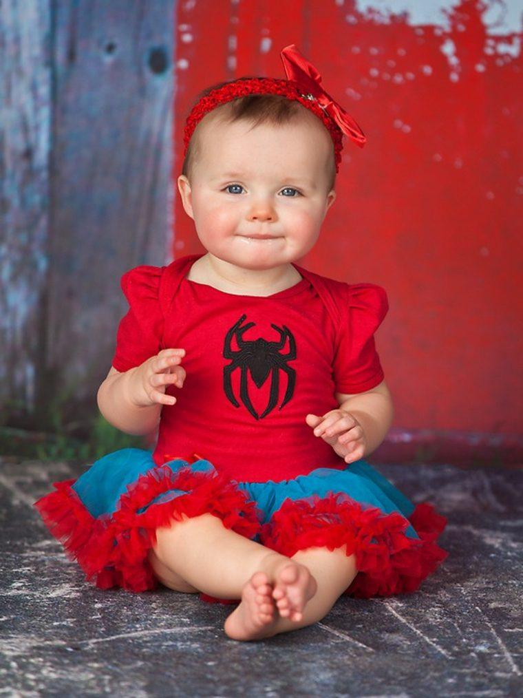 disfraces para bebes halloween nina spiderman ideas