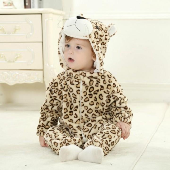 disfraces para bebes leopardo manchas color