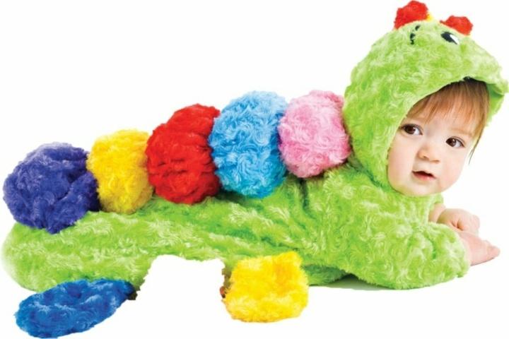disfraces para bebes monstruos aninales colores