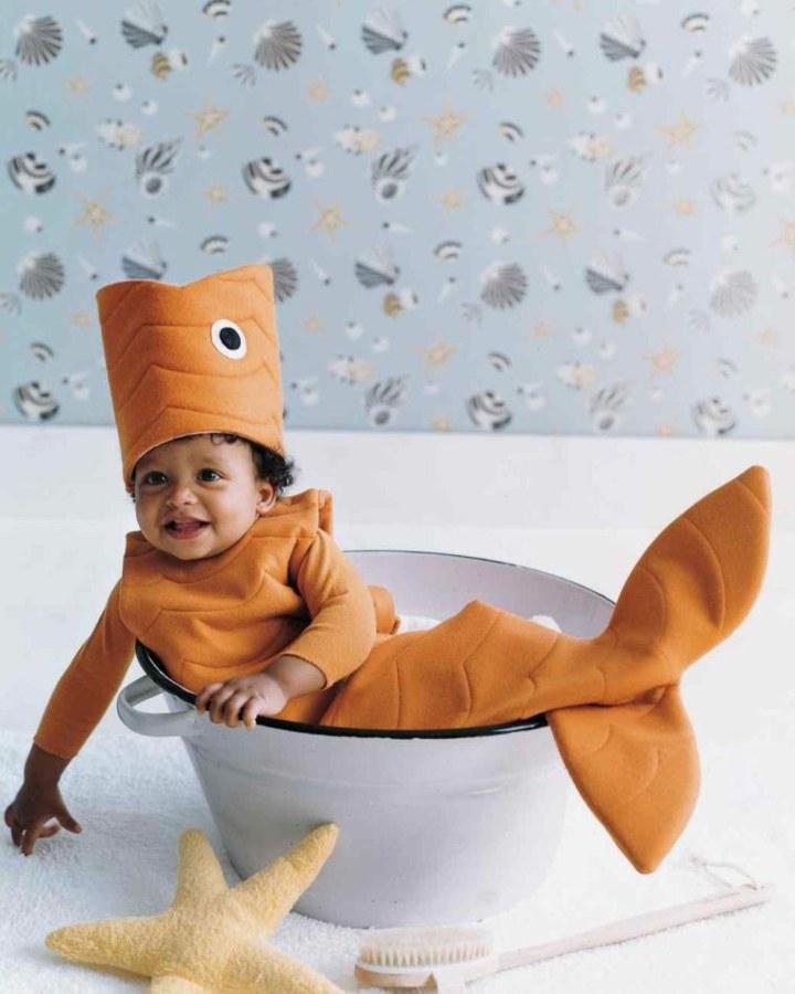 disfraces para bebes peces estilos estrella