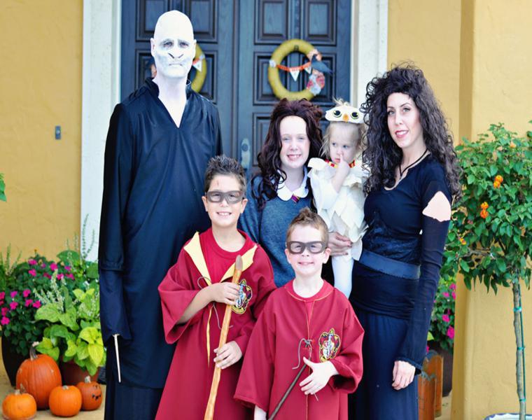 disfraces para fiesta de halloween familia