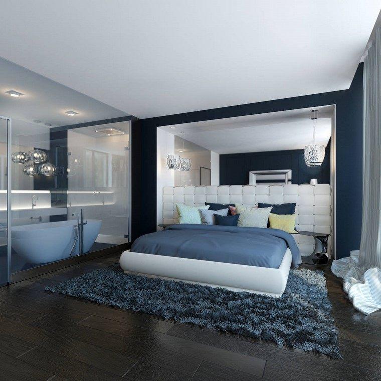 dormitorio principal con dise o minimalista