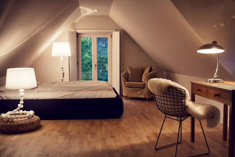 dormitorio principal minimalista diseno lamparas destacan ideas