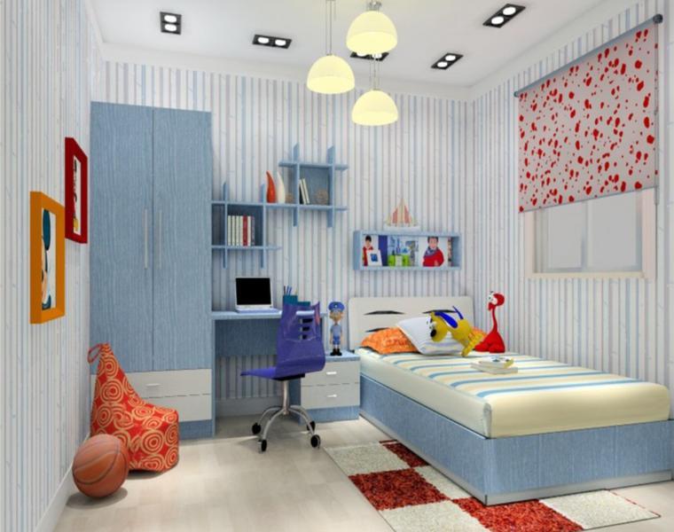 dormitorios minimalistas infantiles modernos