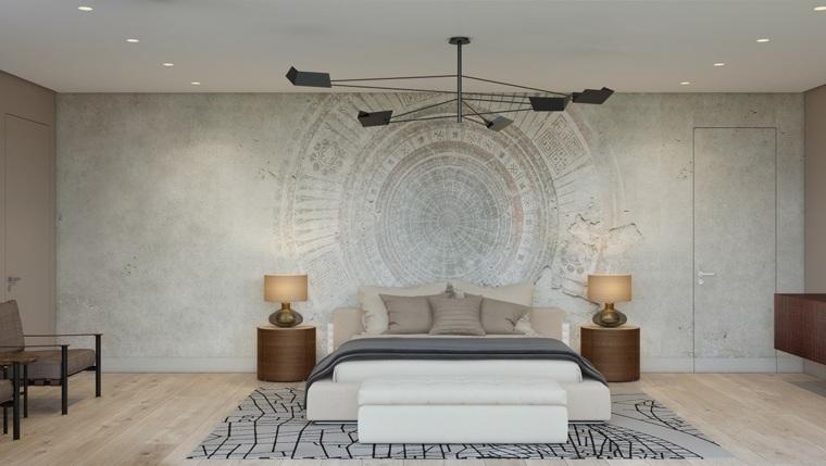 elegancia minimalista hormigon paredes simetrico