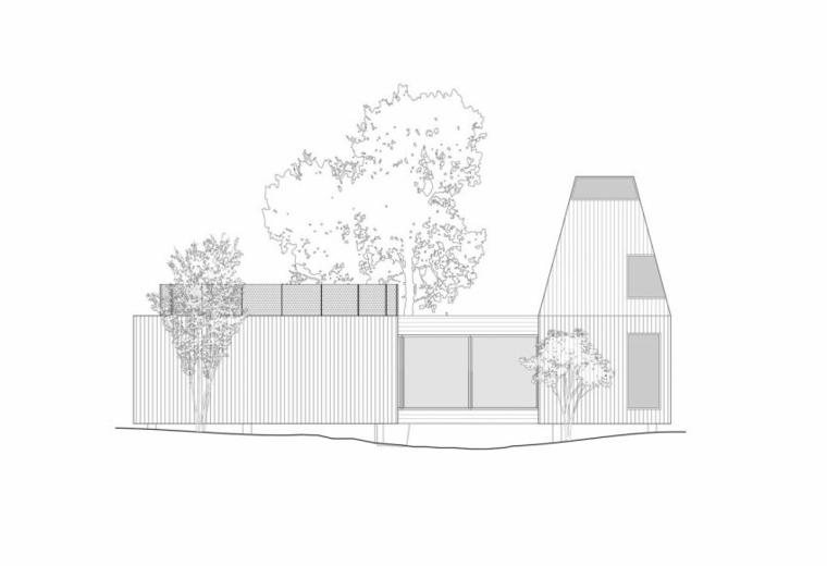 elevacion suelo casa concepto ideas