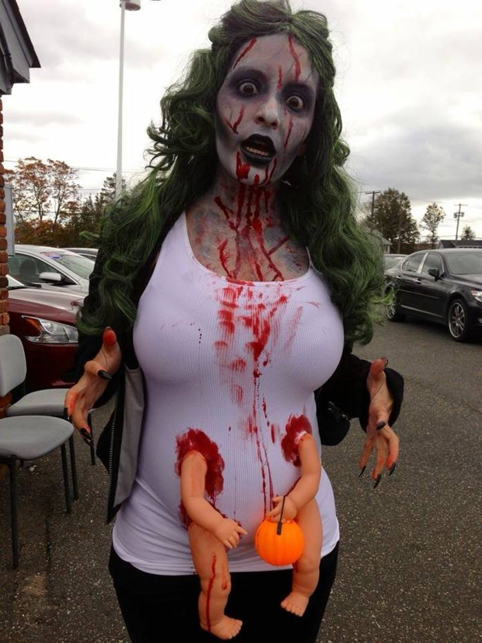embarazo disenos mensajes halloween muestras