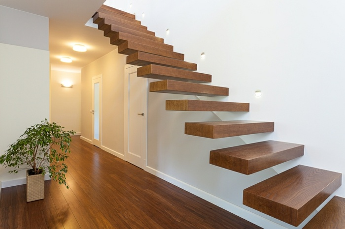 escaleras de madera un detalle impresionante para el hogar - Escaleras Madera