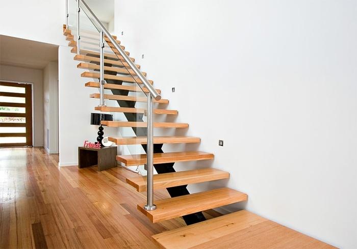 Escaleras de madera un detalle impresionante para el hogar - Escalera de madera ...