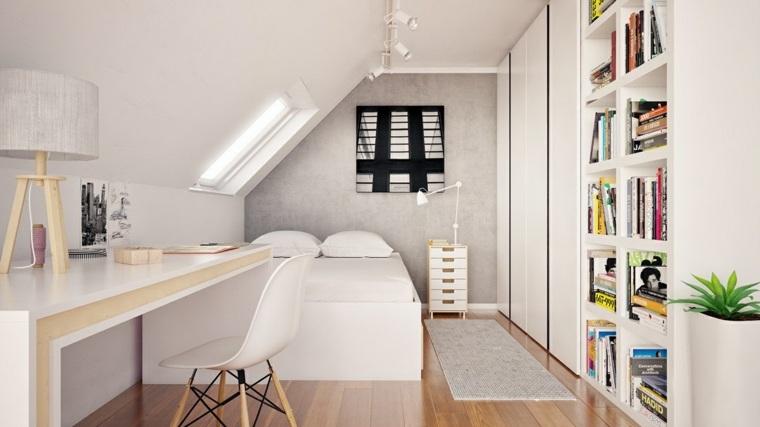 espacio de estudio combinado nien libros